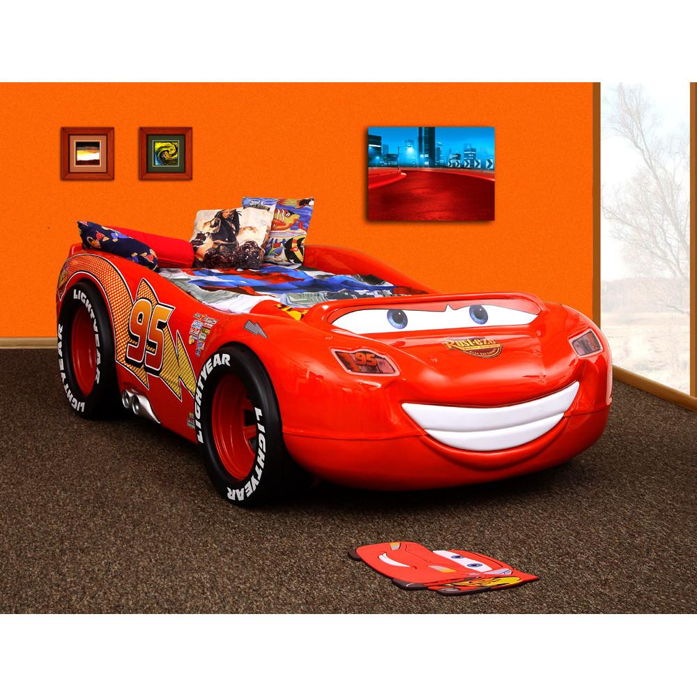 57eba3a40fdb Inlea4fun detská postieľka McQueen ABS ...