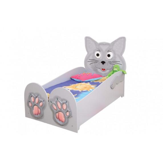 Inlea4Fun detská postieľka Mačiatko - veľká
