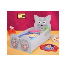Inlea4Fun Detská Postieľka - Mačiatko Preview