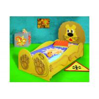 Inlea4Fun detská postieľka Lev - malá