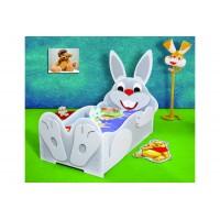 Inlea4Fun detská postieľka Zajačik - malá
