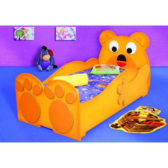 Inlea4Fun detská postieľka Medveď - veľká