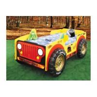 Inlea4fun detská postieľka Monster Truck