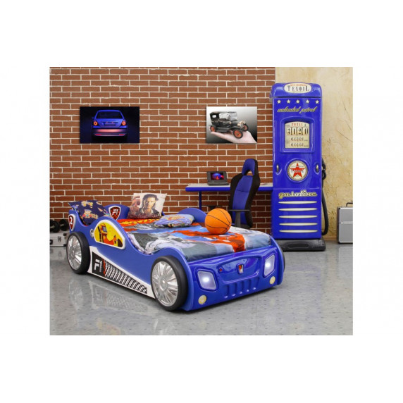 Detská postieľka Monza Inlea4Fun - modrá