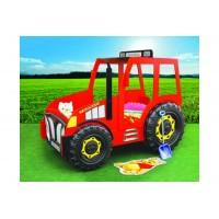 Inlea4Fun Detská postieľka Traktor