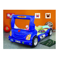 Inlea4Fun detská postieľka Truck modrá