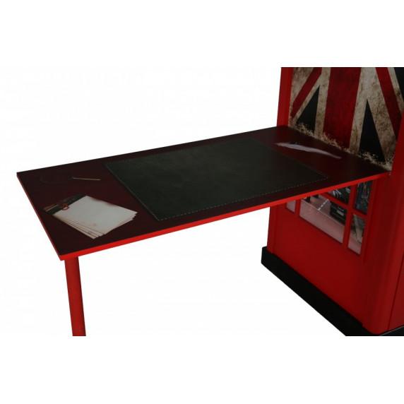Telefónna búdka - Skrinka s písacím stolom