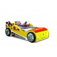 Detská postieľka Inlea4Fun Monza - žltá