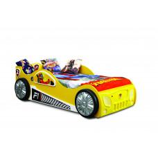Detská postieľka Inlea4Fun Monza - žltá Preview