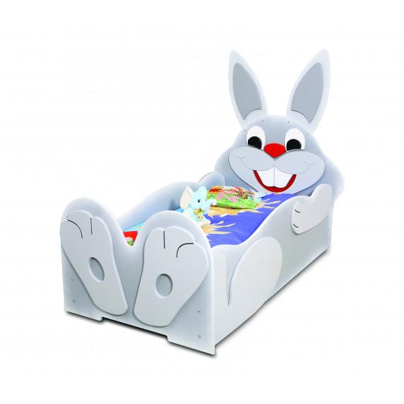 Detská postieľka Inlea4Fun Zajačik - malá
