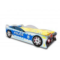 Detská postieľka Speedy Inlea4Fun - veľká modrá
