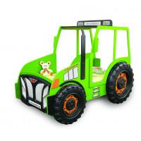 Detská postieľka Traktor Inlea4Fun - zelená