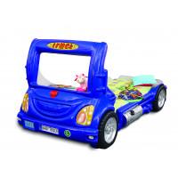 Detská postieľka Inlea4Fun Truck - modrá