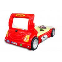 Detská postieľka Inlea4Fun Truck - červená