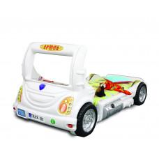 Detská postieľka Inlea4Fun Truck - biela Preview