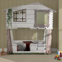 Inlea4Fun detská postieľka Tree House