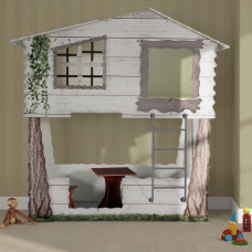 Inlea4Fun detská postieľka Tree House Preview