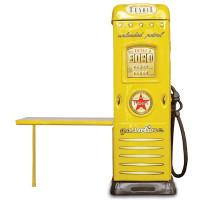 Skriňa so stolíkom Čerpacia stanica Inlea4Fun  - žltá