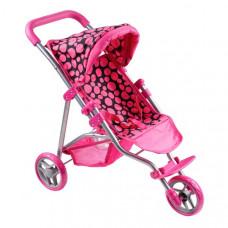 Športový kočík pre bábiky PlayTo Olivie - ružový Preview