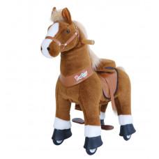 PonyCycle poník svetlohnedý flakatý  - Veľký Preview