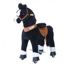PonyCycle poník čierny flakatý  - Veľký Preview