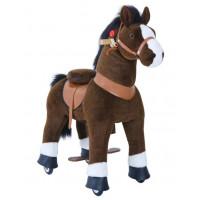 Poník PonyCycle 2021 tmavohnedý flakatý - Malý