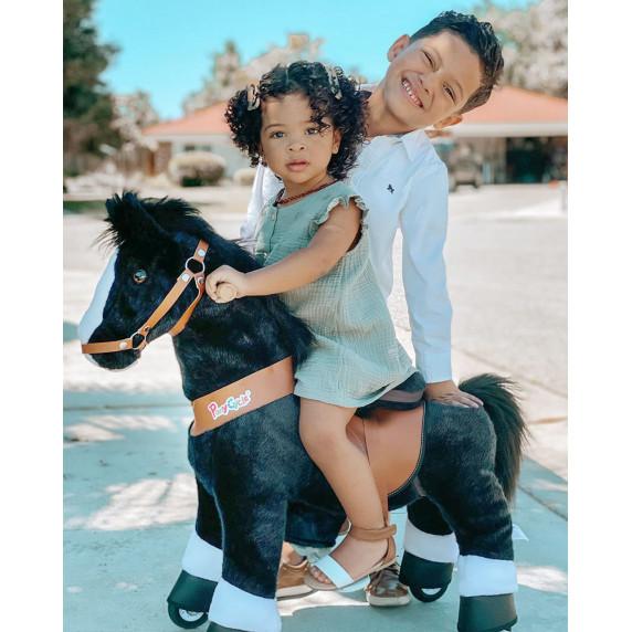 Poník PonyCycle 2021 čierny flakatý  - Veľký