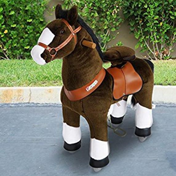 PonyCycle poník tmavohnedý flakatý - Malý
