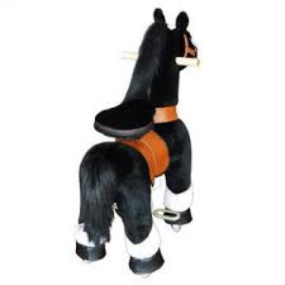 PonyCycle poník čierny flakatý - Malý