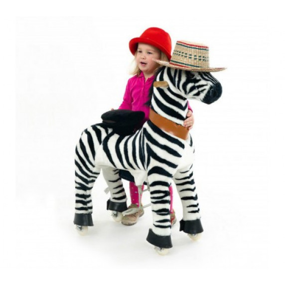 PonyCycle Zebra - Velký
