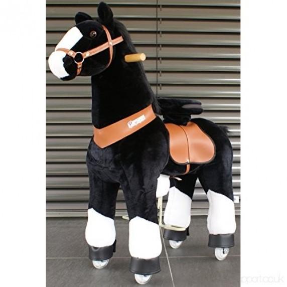 PonyCycle poník čierny flakatý - Velký