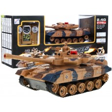 RC Tank Leopard Yellow Preview