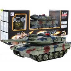 RC Tank Leopard Green Preview