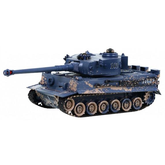 RC bojový tank TIGER s interaktívnym bunkerom 1:28