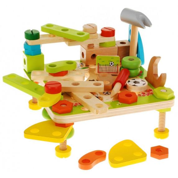 Drevené puzzle - dielňa