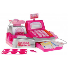 Inlea4Fun Cash Register Detská pokladňa - ružová Preview