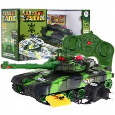 Tank na diaľkové ovládanie RC Tank WAR Camouflage - zelený Preview