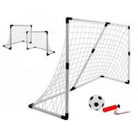 Inlea4Fun Football Sport futbalová bránka 2v1