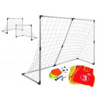 Inlea4Fun Soccer Goal futbalová bránka 2v1 + príslušenstvo