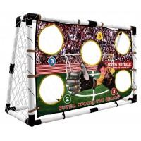 Inlea4Fun SuperSport futbalová bránka s tréningovou sieťkou