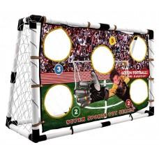 Inlea4Fun SuperSport futbalová bránka s tréningovou sieťkou Preview
