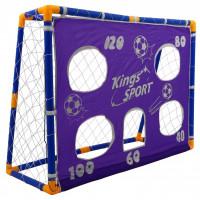 Inlea4Fun Kings Sport futbalová bránka s tréningovou plachtou