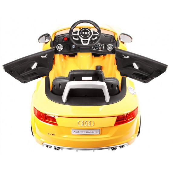 AUDI TTS Roadster elektrické autíčko lakované prevedenie 2019 - Žlté