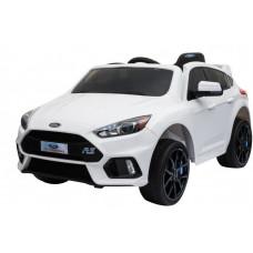 FORD Focus RS - elektrické autíčko - Biele Preview