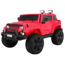 Inlea4Fun Mighty Jeep 4x4 - elektrické autíčko - Červené Preview