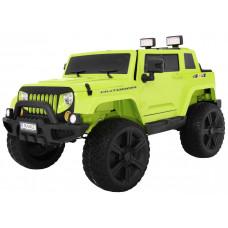 Inlea4Fun Mighty Jeep 4x4 - elektrické autíčko - Zelené Preview