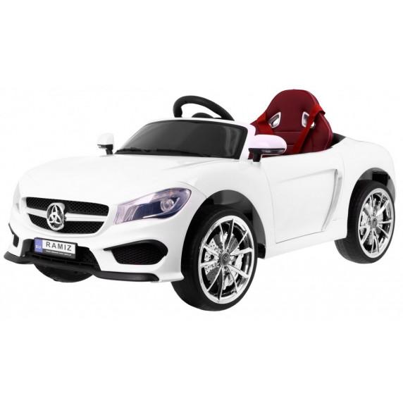 Elektrické autíčko Roadster Cabrio - Biele