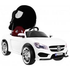 Elektrické autíčko Roadster Cabrio - Biele Preview
