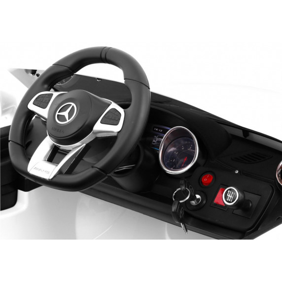 MERCEDES AMG SL65 elektrické autíčko - čierne