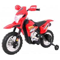 Elektrická motorka Inlea4Fun ForceZ Cros Motor - červené